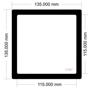 Picture of C1447 -135mm x 135mm