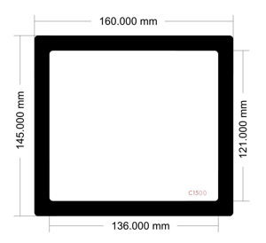 Picture of C1500 - 160mm x 145mm