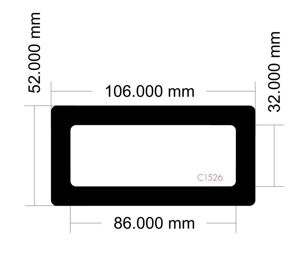 Picture of C1526 - 106mm x 52mm