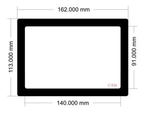 Picture of C1536 - 162mm x 113mm