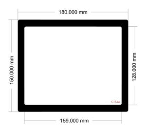 Picture of C1544- 180mm x 150mm