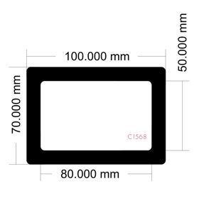 Picture of C1568 - 100mm x 70mm