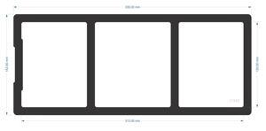 Picture of C1583 - 335mm x 142mm - Fractal Design Define 7 Front Filter