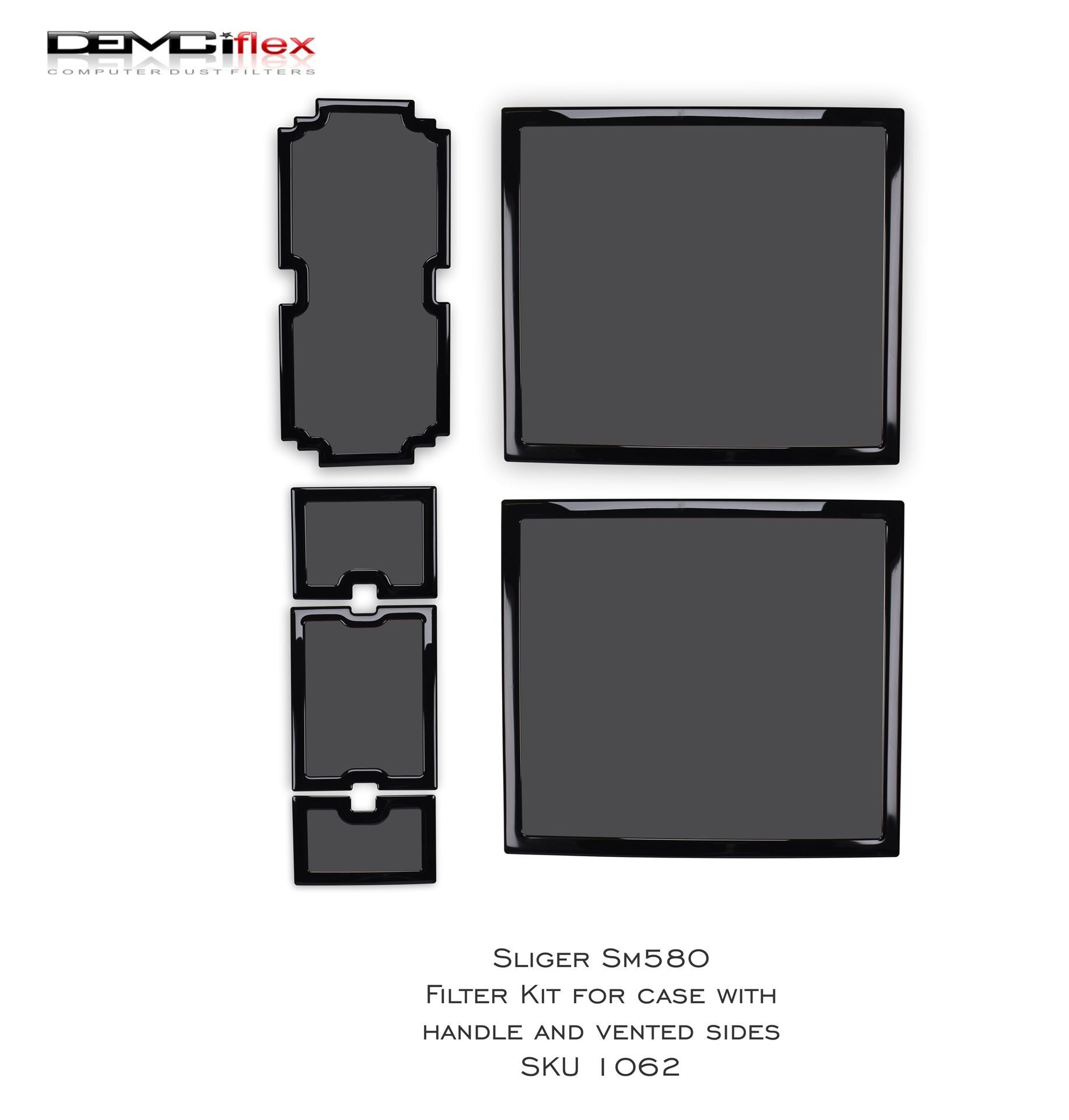 Picture of Sliger SM580 Filter Kit for case with handle & vented sides