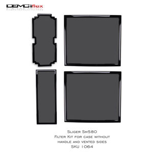 Picture of Sliger SM580 Filter Kit for case without handle & vented side
