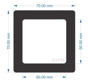 Picture of C1775 - 70mm x 70mm - Dell Precision 7920 Tower Workstation Side filter small