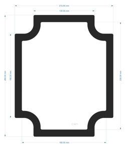 Picture of C1871 - 260mm x 210mm - Jonsbo V4 Bottom Filter