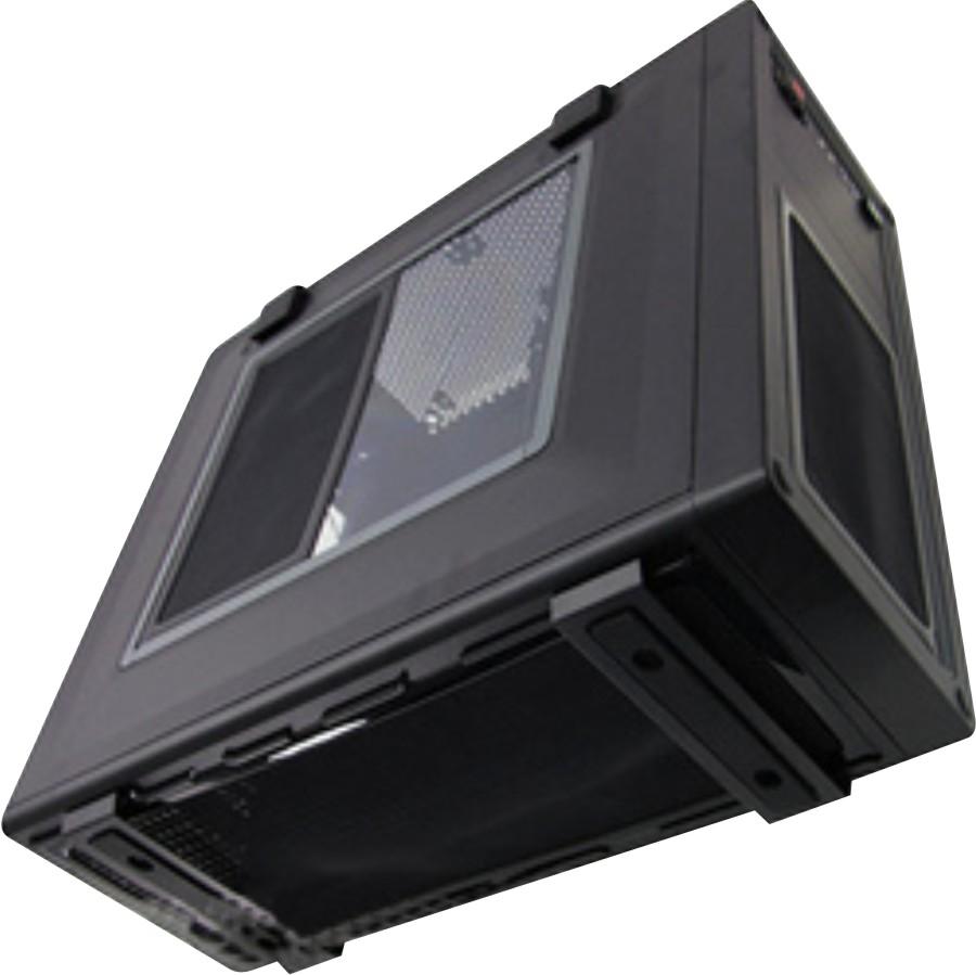 DEMCiflex Dust Filter for Corsair Vengeance C70 Bottom Black Frame//Black Mesh